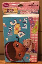 Disney Doc McStuffins Birthday Hallmark Party Invitations & Thank You Postcards