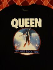 Queen We Will Rock You Shirt Large Nwot Bohemian Rhapsody Freddie Mercury