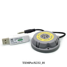 Laptop USB hygrometer with outer temperature&humidity sensor,for Linux,RS232