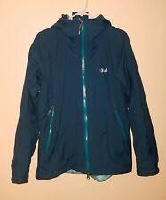 Rab Women's Size Large Hooded Jacket,  Blue Pertex Sheild +