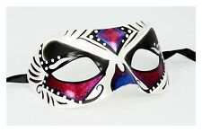 Masquerade Half Mask Women Clown Butterfly Fairy Costume Cosplay Pink Prom Ball