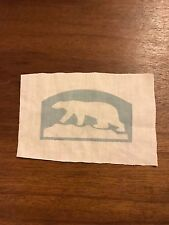 Wwi Us Army North Russia Polar bear patch Aef Printed