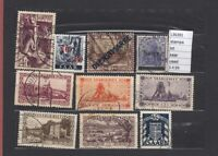 LOT  STAMPS  GERMANY SAAR  USED  (L36391)