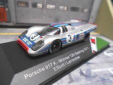 PORSCHE 917 breve Heck 1971 #3 Sebring WINNER Elford Larrousse Martini cm Ixo 1:43