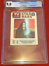 TV Guide v53 #18 May 2005  CGC 9.0 Star Wars Darth Vader Skywalker Hologram