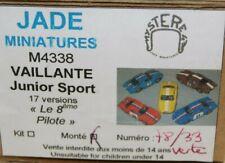 JADE MINIATURES - M4338 - VAILLANTE - JUNIOR SPORT  -  2002