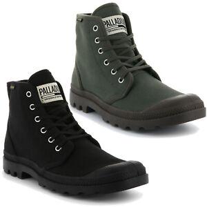 Palladium Mens Pampa High Original Boots Lace Up Walking Hi Top Ankle Shoes