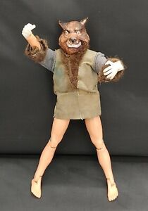 1974 All Original Mego Mad Monsters The Wolfman Action Figure