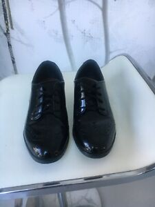 Girls Clarks Scala Lace Up School Brogues Shoes 3G