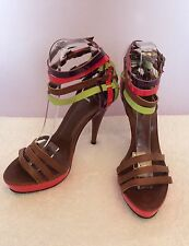 """Carvela 100% Leather Slim Very High Heel (greater than 4.5"""") Women's Shoes"""