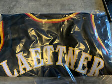 Christian Laettner Autograph Atlanta Hawks Jersey Dave And Adams Authenticated