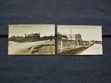 Pembroke Dock RPPC postcards - Lianion Barracks & Barracks and Drawbridge, nice