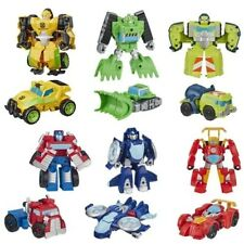 TRANSFORMERS BOT RESCUE - BOULDER, SALVAGE, HOT ROD, OPTIMUS, F1, BUMBLEBEE