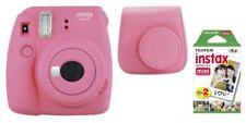 Fuji Instax Mini 9 flamingopink/Rosa y compris INSTAX Films + Sac