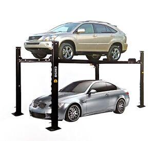 Car Hoist 4Ton Four Post Car Parking Lift 4QJY4.0-C,.