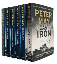 Peter May 6 Books Enzo Macleod Files Thriller Mystery Cast Iron Critic 1-6 New