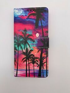 For iPhone 12 PRO Wallet Case beach and Sunset