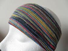 ** Fair Trade ** FABULOUS! Nepalese Striped Hippy Headband Multi Colour (SHB7)