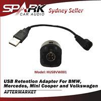 USB Retention Adapter Cable Harness For Volkswagen Golf Jetta Passat Polo Amarok