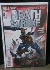 Deathstroke (2011) #1 1st Print New 52! Suicide squad harley quinn B&B VERY HI G