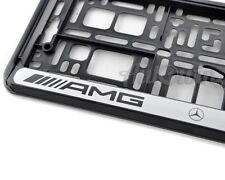 Mercedes-Benz AMG Frames Euro Standart License Plates NEW 1pcs.