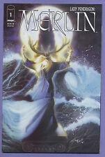 Lady Pendragon Merlin #1 2000 One-Shot Matt Hawkins John Stinsman Vale Image k