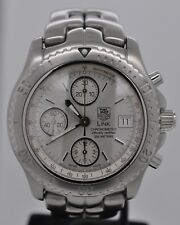 Tag Heuer Link Automatic Chronometer Chronograph Silver Dial Steel CT5113.BA0550
