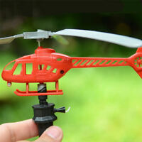 Aircraft Toys Handle Pull The Plane Aviation Helicopter Model Outdoor Toys