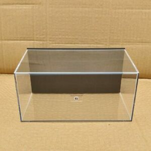 Display Boxes Acrylic Case Motorcycle Models Toys Car Transparent Dustproof 20cm