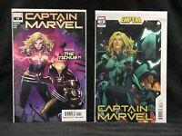 CAPTAIN MARVEL 17 & 18/ Marvel Comic/ MORA VARIANT/ Wolverine/ EMPYRE/ Thor