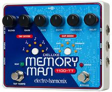 EHX Electro Harmonix Deluxe Memory Man w/ Tap Tempo 1100-TT effects pedal