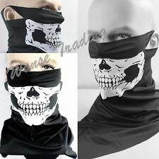 Snowboard Motorcycle Half Face Bandana Scarf Mouth Mask Protector Ghost Skull