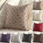 Unique Sofa Bed Decor Multicolored Plaids Throw Pillow Case Square Cushion Cover