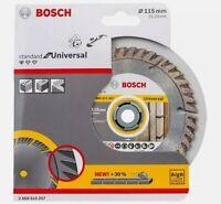 Bosch 2608615057 115mm Standard Universal Diamond Saw Blade