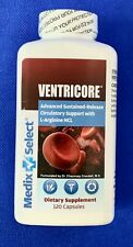 VENTRICORE - Medix Select CIRCULATION SUPPORT New Unopened 120 capsules