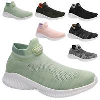 Herren Damen Sneaker Sportschuhe Turnschuhe Laufschuhe Socken Schuhe Freizeit