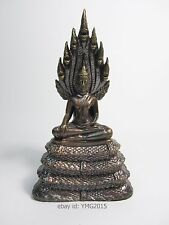 """PHRA NAK PROK , 5th Saturday BE2555 Generation"" Bronze Amulet for Good Fortune"