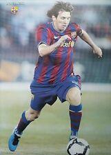 "LIONEL MESSI ""CHASING SOCCER BALL"" POSTER - FC Barcelona, Argentina, Soccer Star"