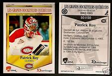 1992-93 Durivage Bread (Quebec only) Patrick Roy