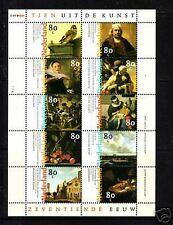 1826-35 velletje van 10 uit de kunst postfris/mint