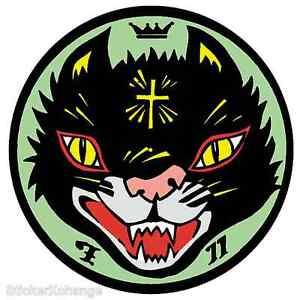 Cult Cat STICKER Decal Kozik Poster Artist KZ20