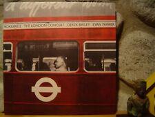 DEREK BAILEY & EVAN PARKER The London Concert LP/1975 UK/Free Improv./Incus