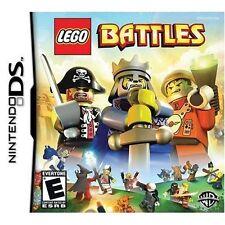 LEGO Battles Nintendo DS 2009 Pirate Castle King Space Man Adventure Video Game