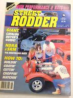 Street Rodder Magazine NDRA & SRM August 1989 011817R