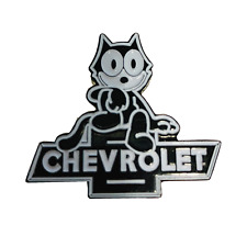 Felix Chevrolet 1960's Replica Employee Pin - Felix The Cat