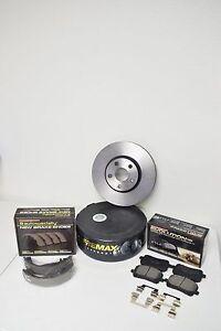 Toyota Corolla 2003 2004 2005 2006 2007 2008 Brake Rotor Pad Hardware Shoes Kit