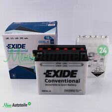 ORIGINAL EXIDE EB18L-A 12V 18Ah 190A MOTORRAD BATTERIE YAMAHA 1100 VX TOP PREIS