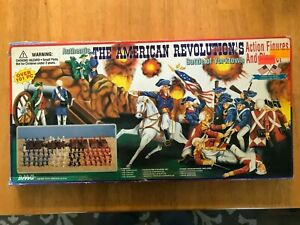 BMC 54mm AWI Battle of Yorktown Playset - never played with
