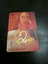 (G)I-DLE I Made Senorita Miyeon sign photocard YES! Mag. Official (Unofficial)