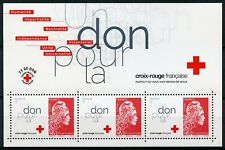 France 2018 MNH French Red Cross Marianne 3v M/S Medical Health Stamps